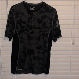 Under armor fitted athletic shirt